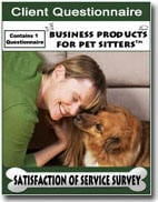 Client Questionnaire - Six Figure Pet Business Academy