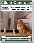 Contracts for: Pet Sitting and Dog Walking Clients