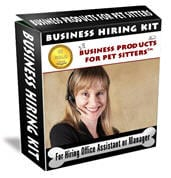 Business Hiring Kit: For Hiring an Office Assistant or Manager™
